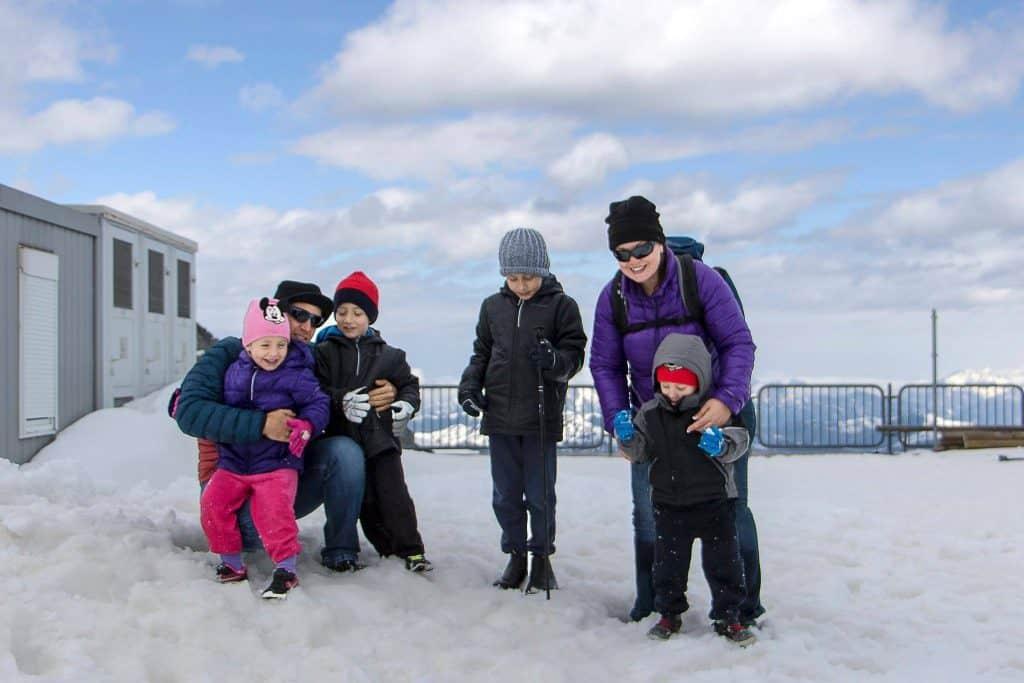 אוסטריה עם ילדים - אתר סקי