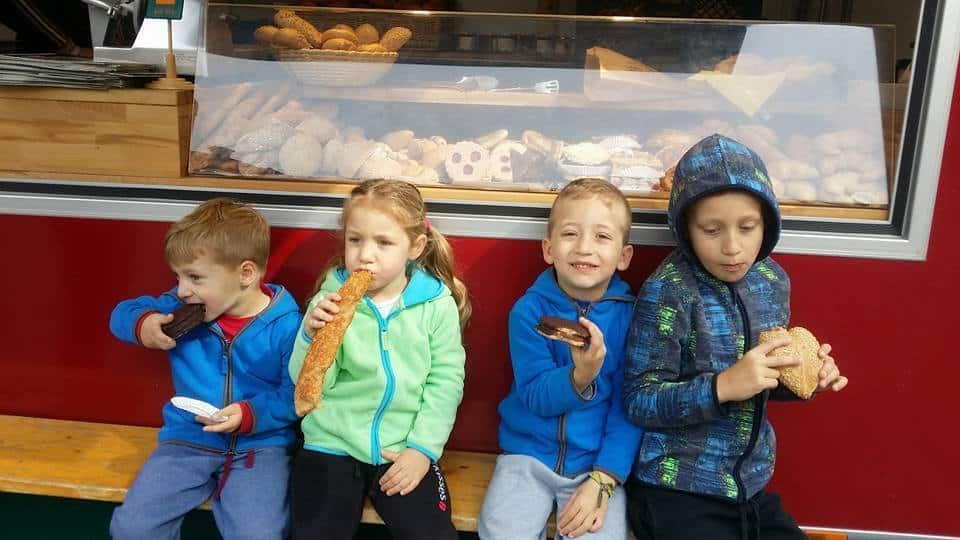 אוסטריה עם ילדים - שוק איכרים בוינה