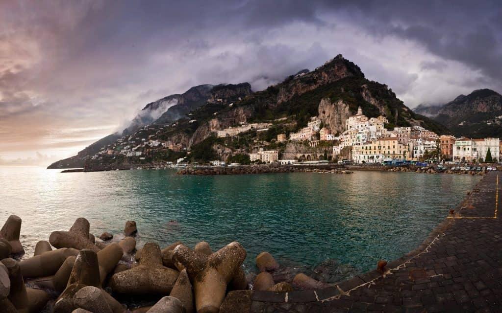 דרום איטליה עם ילדים - אמלפי