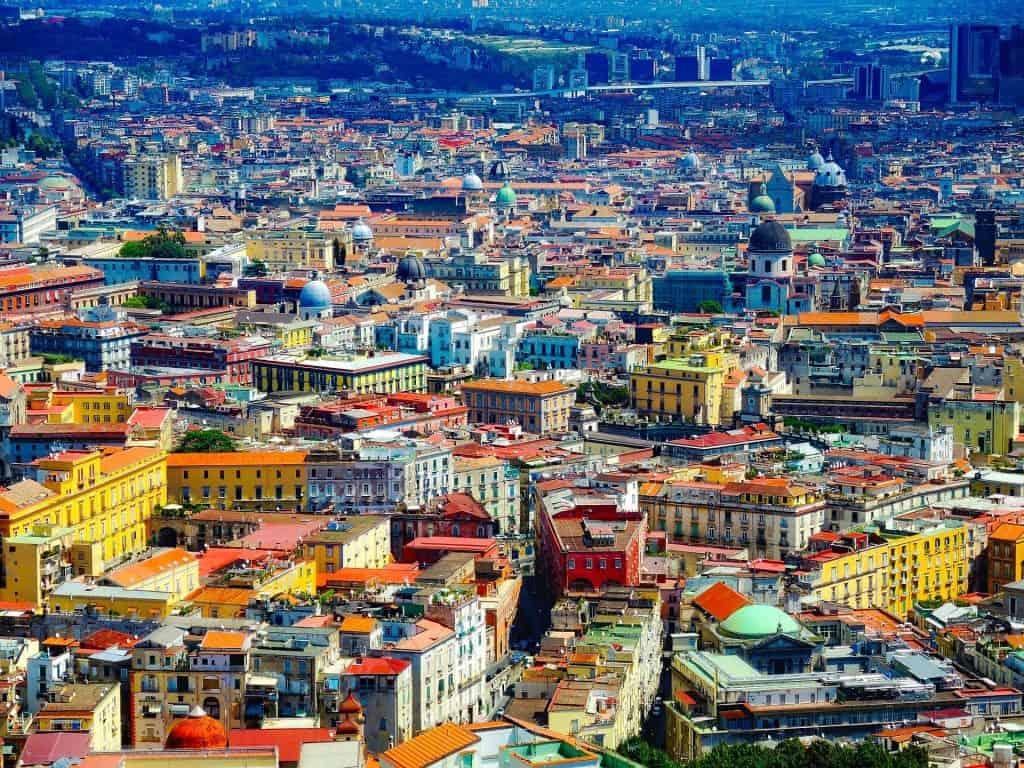 דרום איטליה עם ילדים - נאפולי