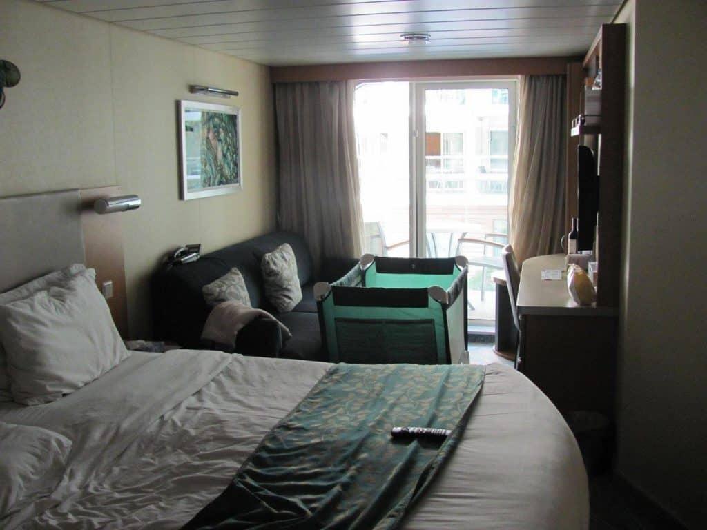 קרוז עם ילדים - חדר בספינה Royal Carribean