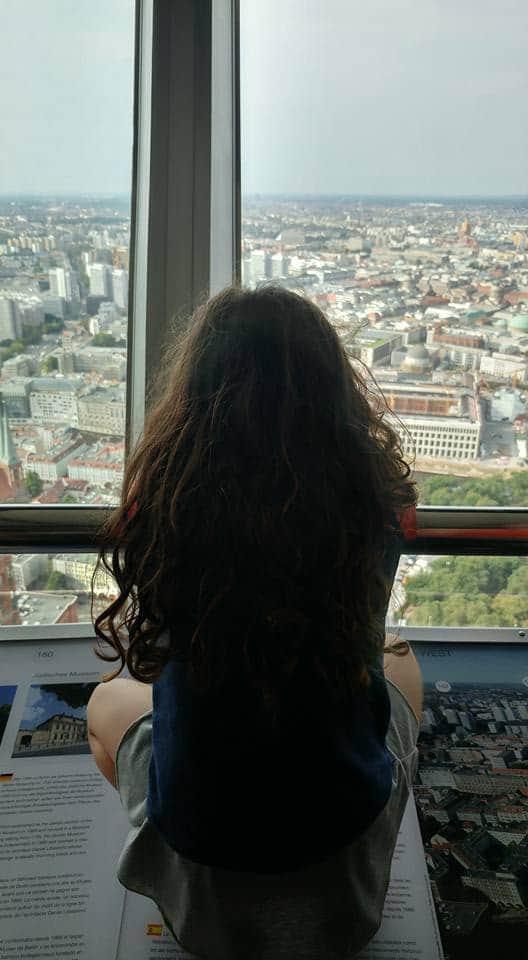 ברלין עם ילדים - מגדל הטלויזיה