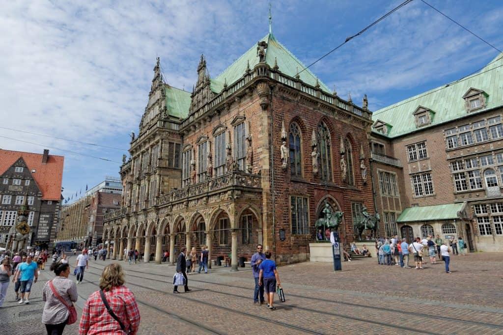 Bremen צפון גרמניה עם ילדים - העיר העתיקה