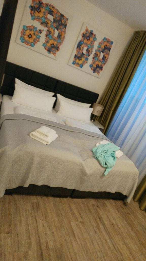 Rosenthal Residence Apartments חדר השינה