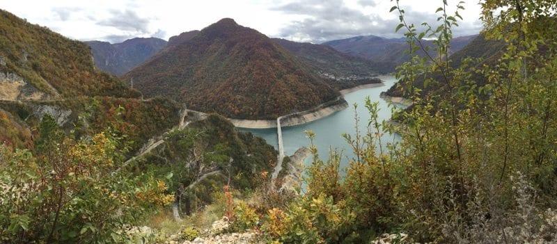 נהר הפיבה וגשר נהר הפיבה מונטנגרו
