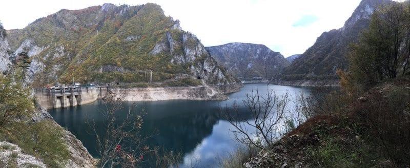 סכר נהר פיבה מונטנגרו