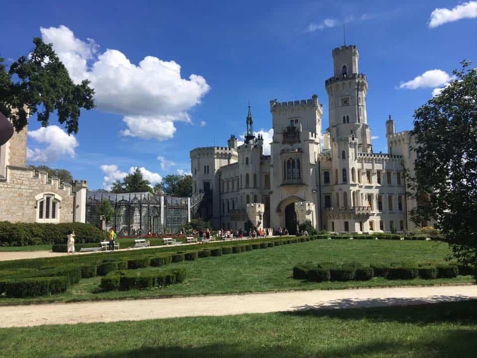 צכיה - ארמון Hluboka