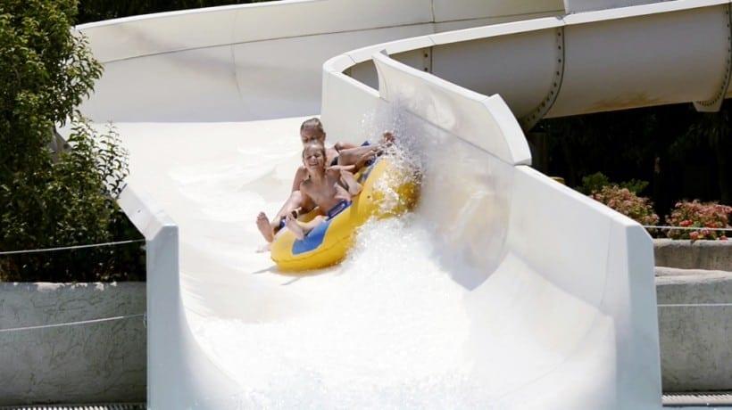 רודוס עם ילדים - פארק המים