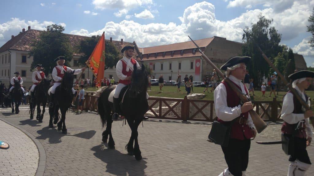 רומניה עם ילדים - חילופי המשמר אלבה יוליה