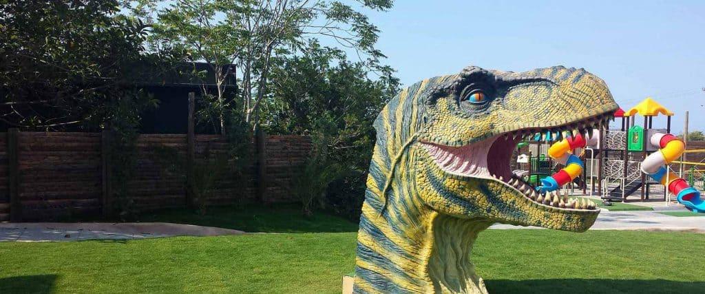 Park Dinosauria פארק דינוזאוריה - כרתים עם ילדים