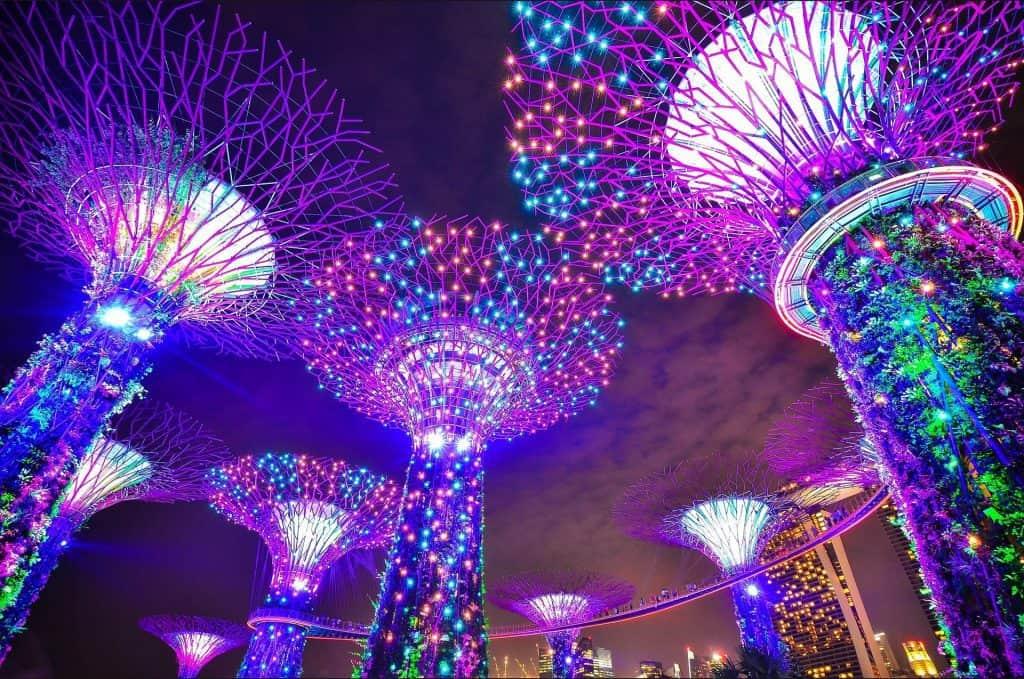 סינגפור Gardens by the Bay