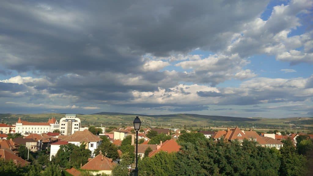 מבט של אלבה יוליה מהמצודה