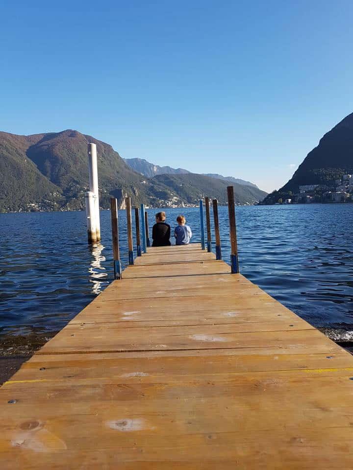 צפון איטליה עם ילדים - על שפת האגם
