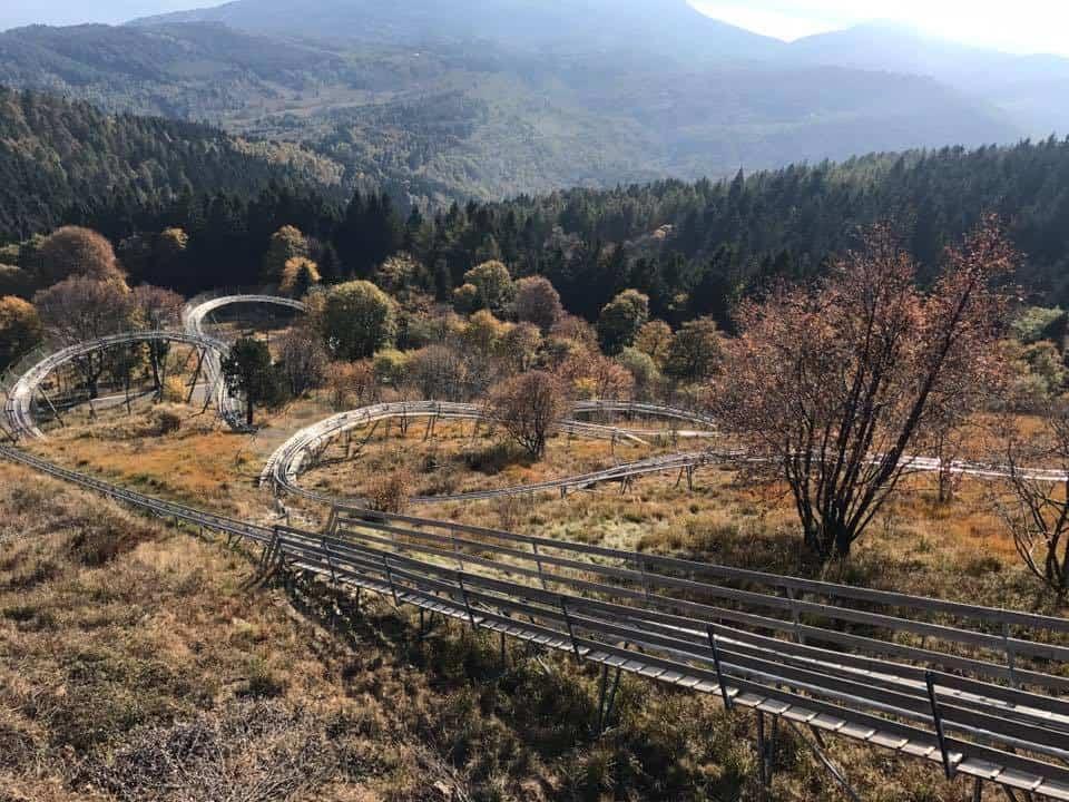 צפון איטליה עם ילדים - רכבת ההרים