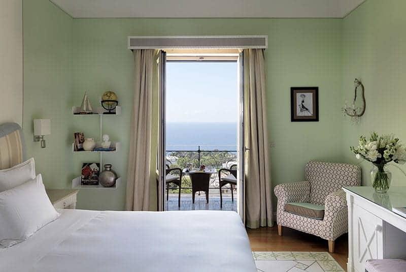 מלונות כשרים באיטליה - Capri Tiberio Palace