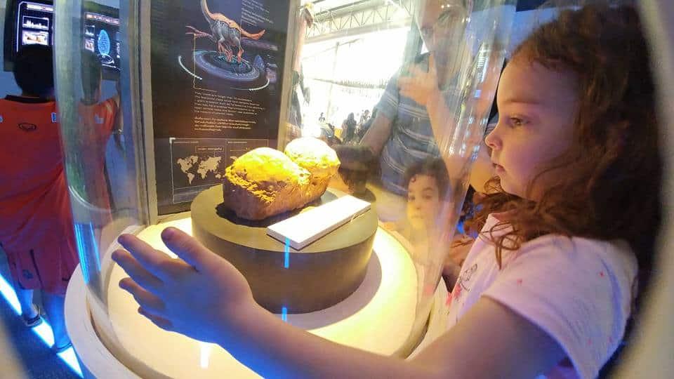 בנגקוק עם ילדים - עולם הדינוזאורים