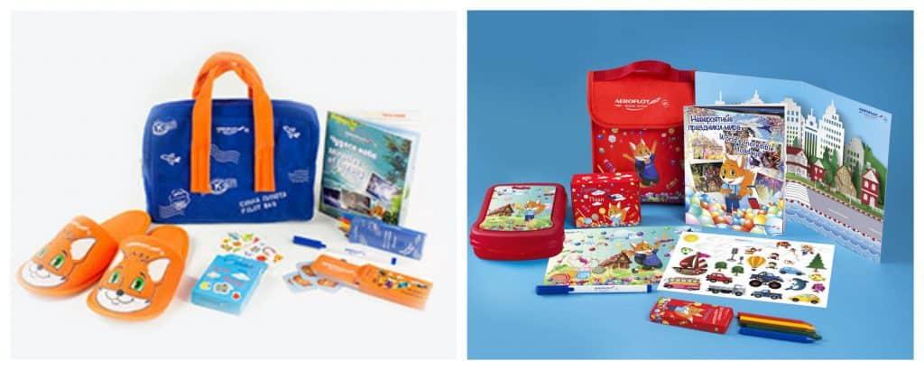 טיסת אירופלוט לבנגקוק - המתנות שקיבלו הילדים