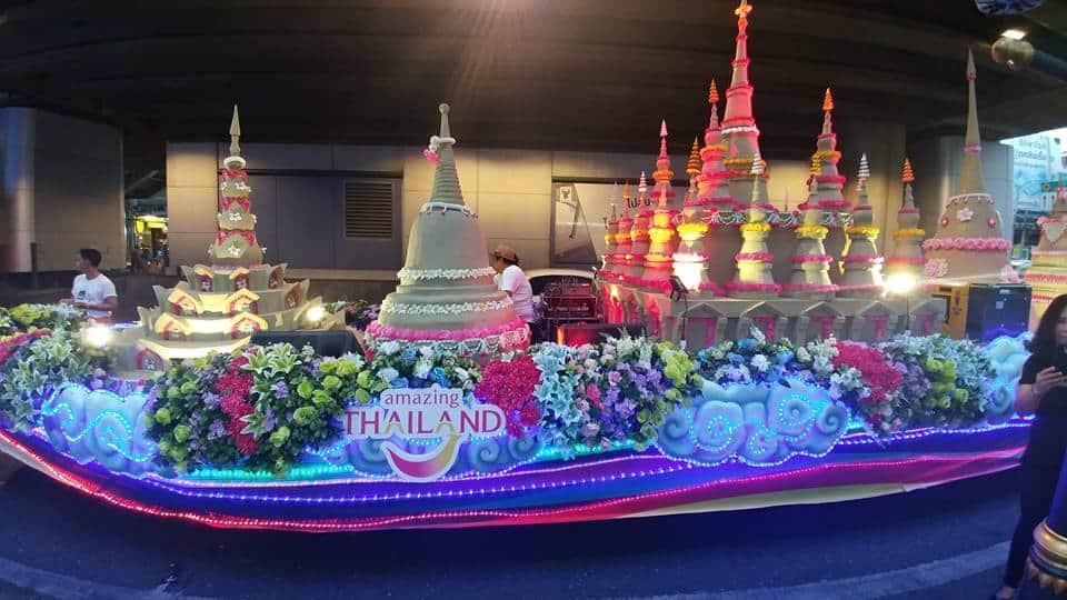 תהלוכת הסונגקראן Songkran