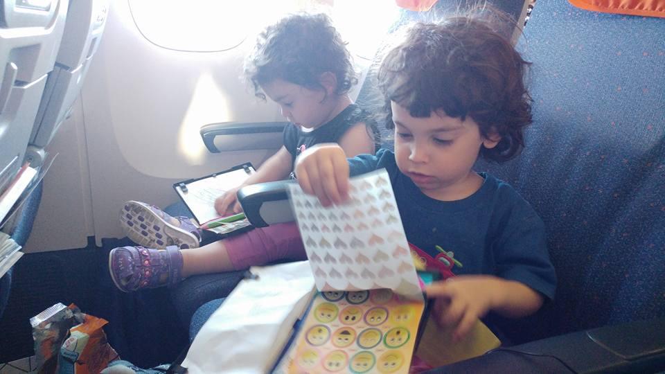 בנגקוק עם ילדים - ערכות יצירה שהכנתי מראש