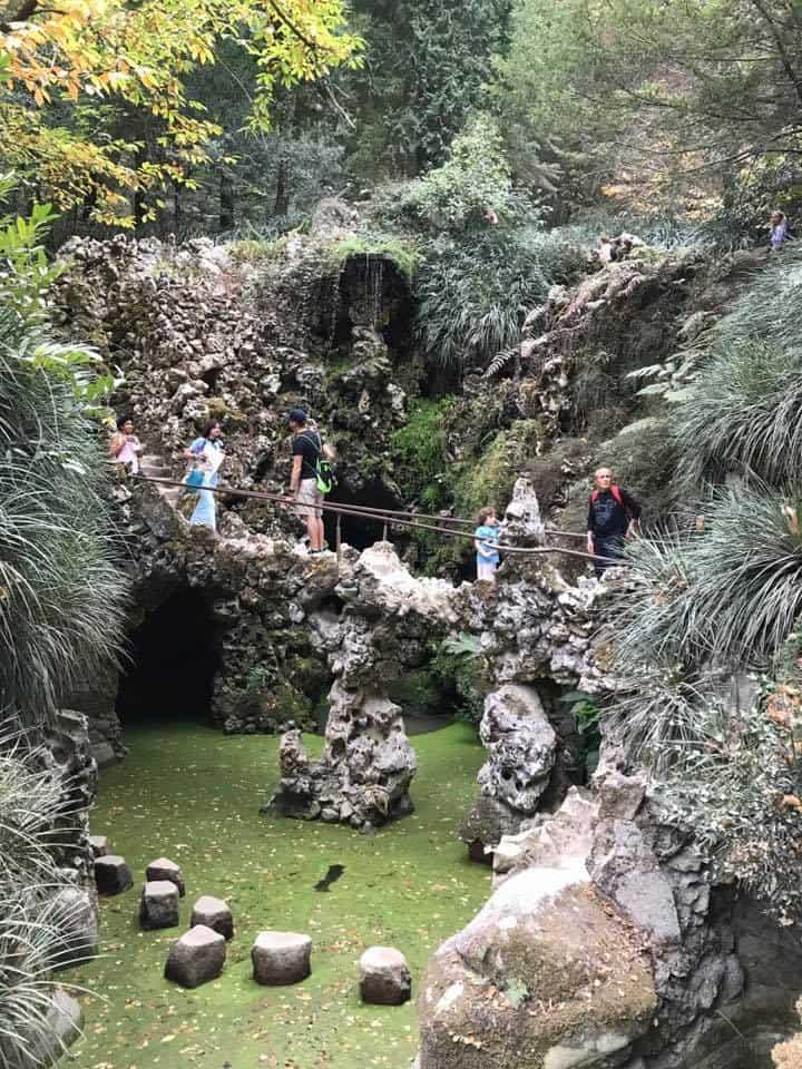 פורטוגל עם ילדים - Quinta da Regaleira