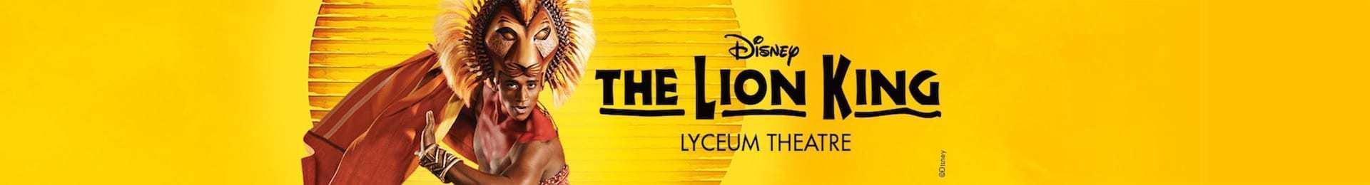 כרטיסים למלך האריות The Lion King בלונדון
