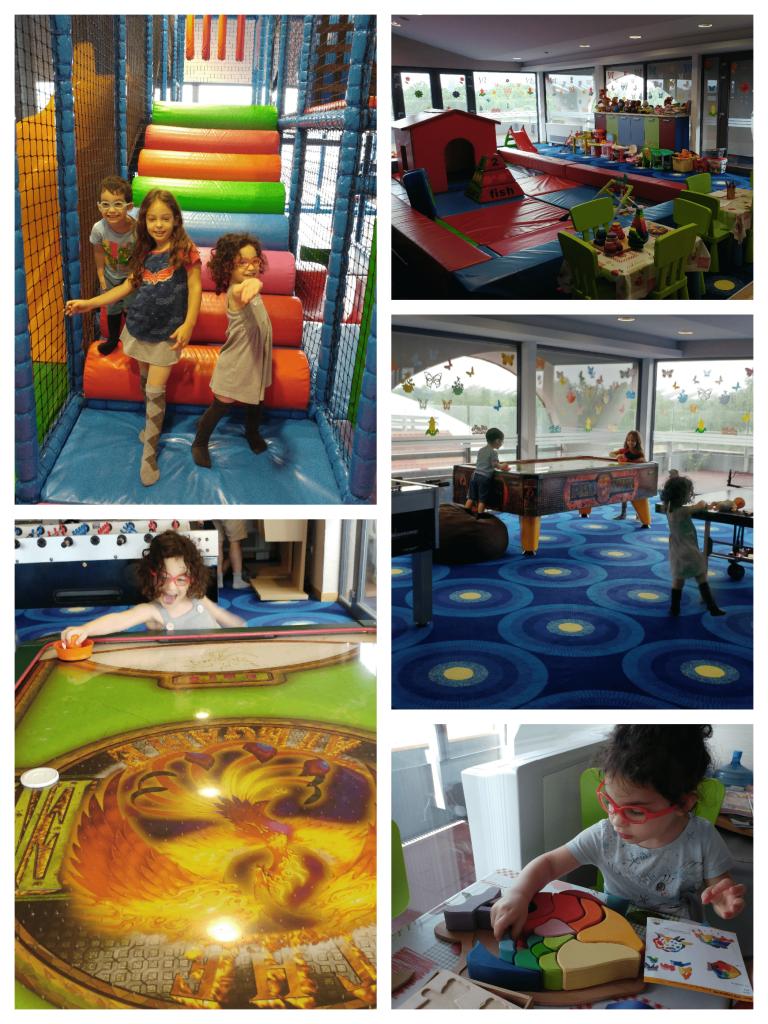 דברצן עם ילדים - מלון Aquaticum - חדר המשחקים