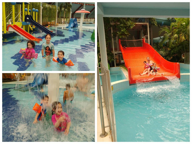 דברצן עם ילדים - מלון Aquaticum - פארק המים