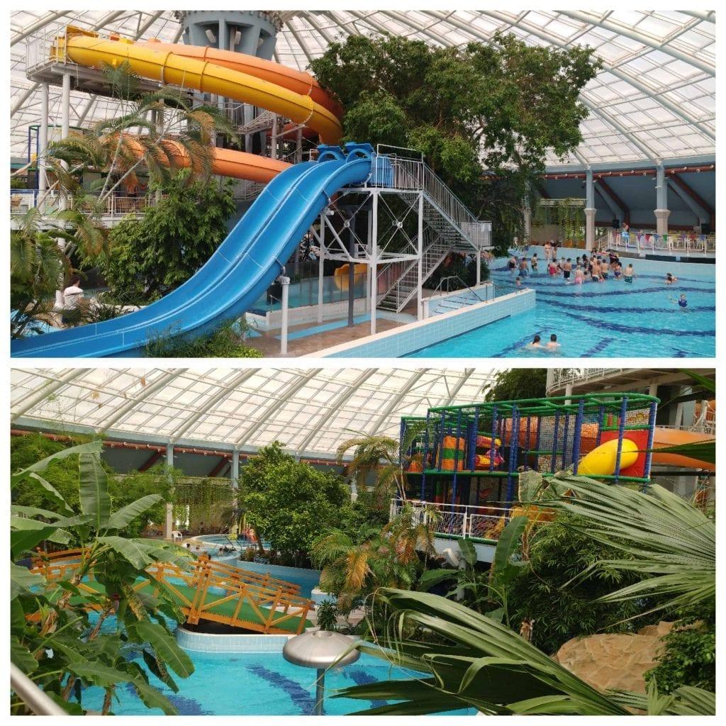 דברצן עם ילדים - פארק המים במלון Aquaticum