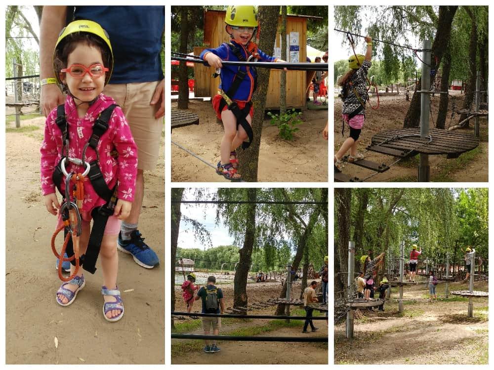 דברצן עם ילדים - Kerekedro Adventure Park