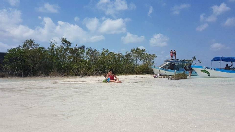 מקסיקו עם ילדים - לגונת בקאלר - מפרץ הפיראטים