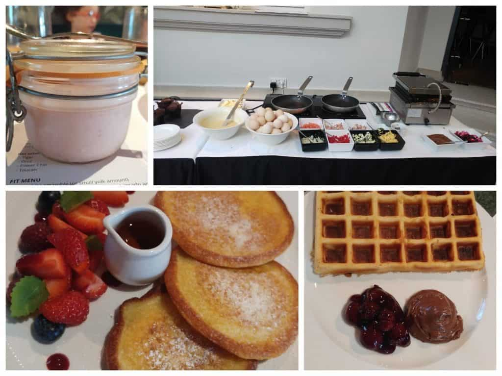 ורשה עם ילדים - ארוחת הבוקר במלון H15