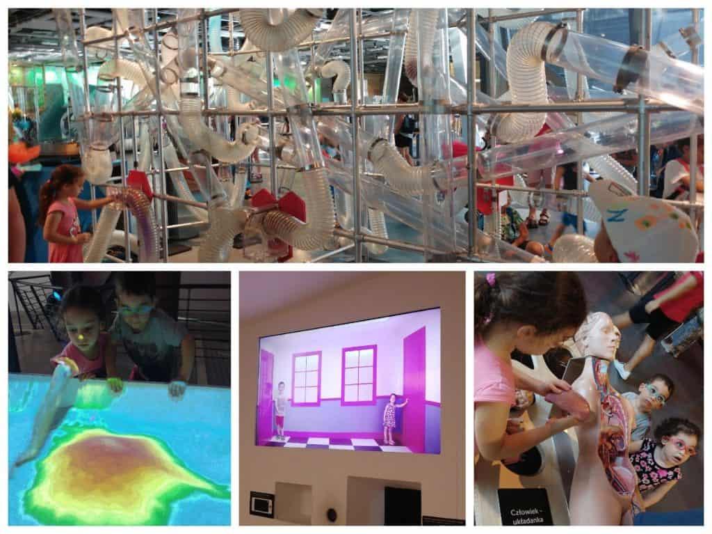 ורשה עם ילדים - מוזיאון המדע Copernicus