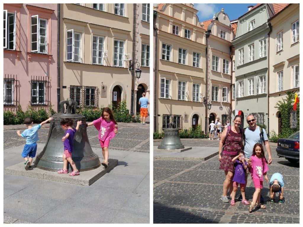 ורשה עם ילדים - פעמון המשאלות