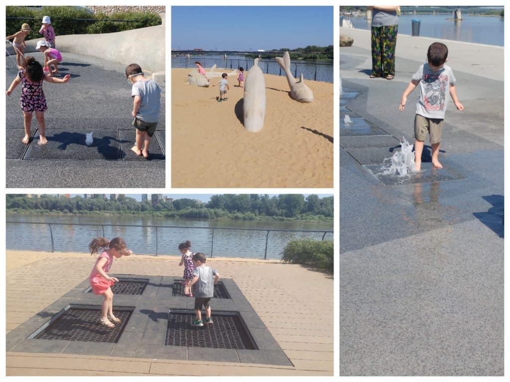 ורשה עם ילדים - Vistula Boulevards