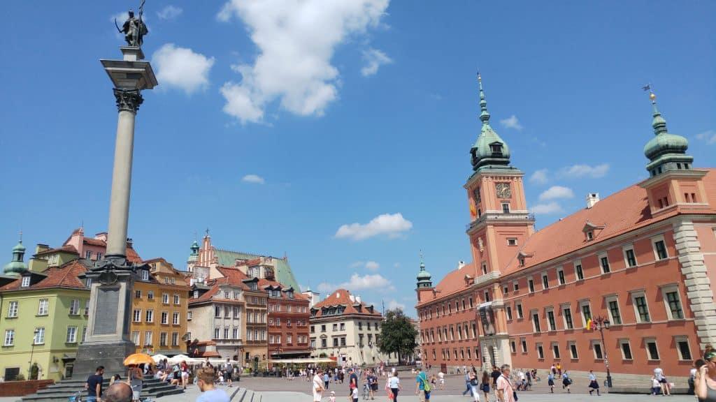 ורשה עם ילדים - Sigmund's Column