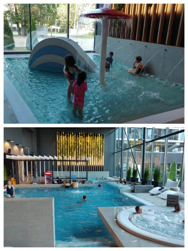 יורמלה עם ילדים - Hotel Jurmala Spa - הבריכות