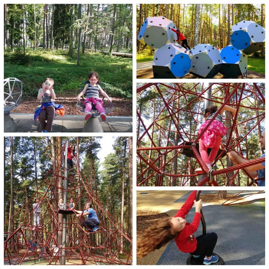 לטביה עם ילדים - יורמלה עם ילדים - פארק Dzintary