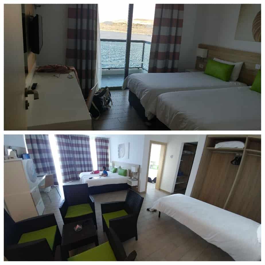 מלטה עם ילדים - חדר המשפחה Seashells Resort