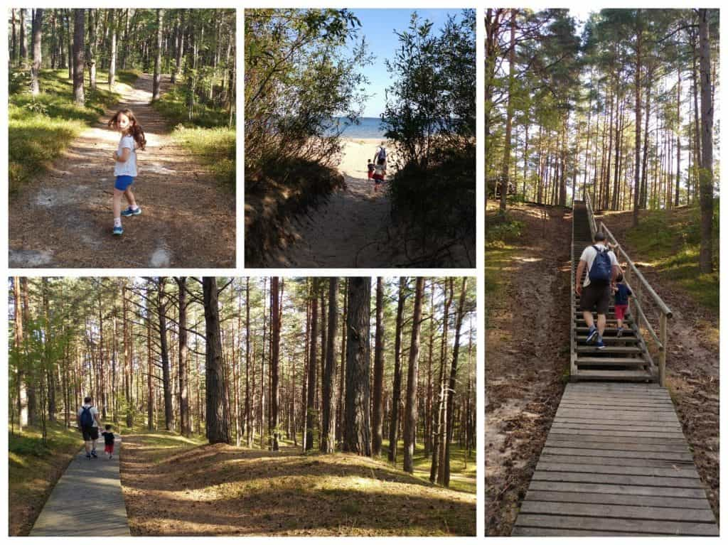 לטביה עם ילדים - יורמלה עם ילדים - פארק Ragakāpa