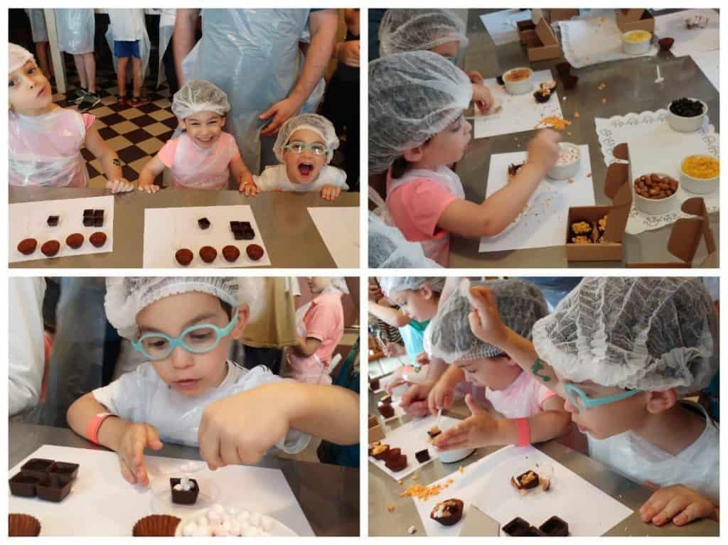 ריגה עם ילדים - מוזיאון השוקולד Laima