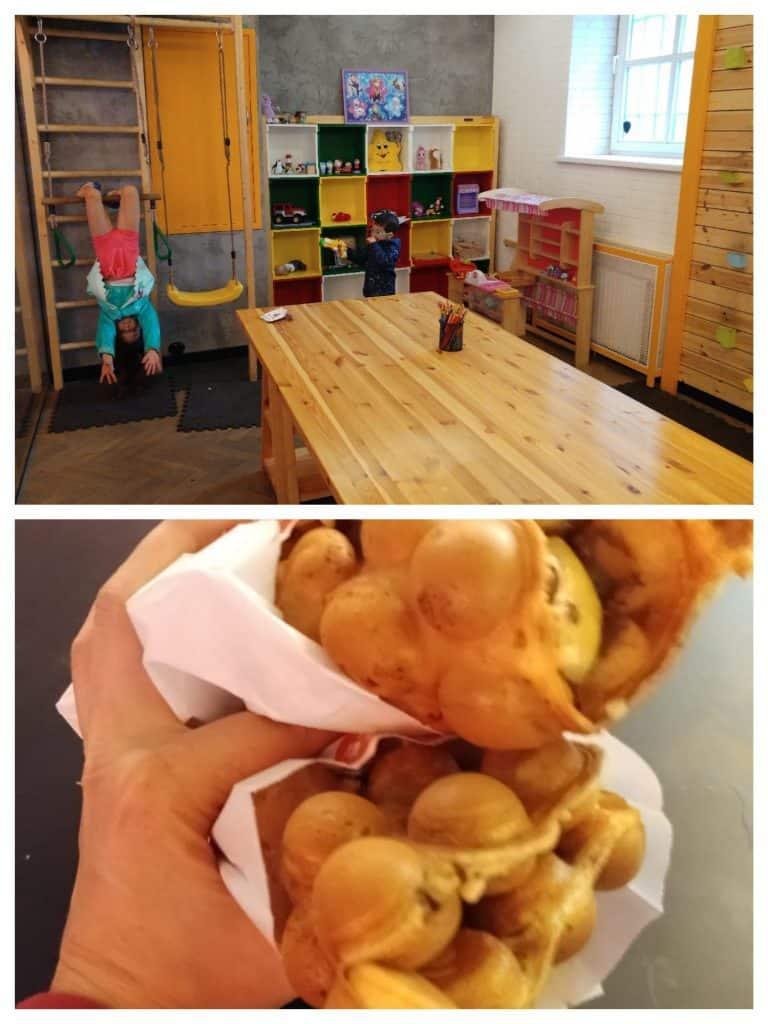 ריגה עם ילדים - Bubble Waffle