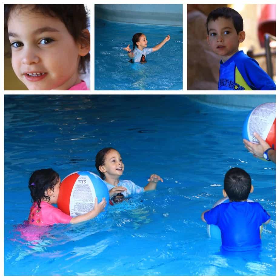 יורמלה עם ילדים - פארק המים