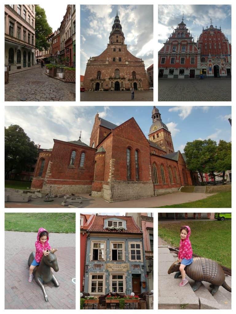 לטביה עם ילדים - ריגה עם ילדים - העיר העתיקה
