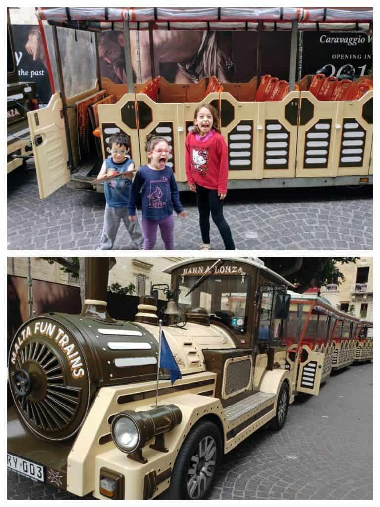 מלטה עם ילדים - וולטה - Fun Train
