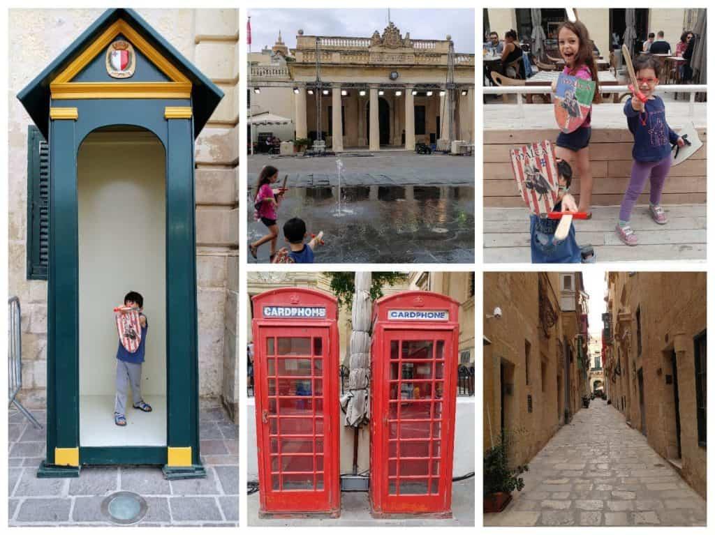 מלטה עם ילדים - ברחובות וולטה