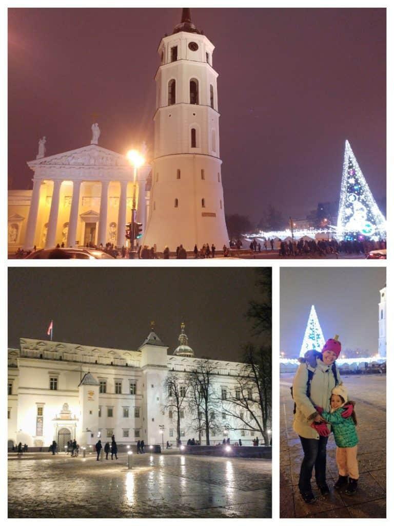 וילנה עם ילדים - חג במולד בעיר הישנה