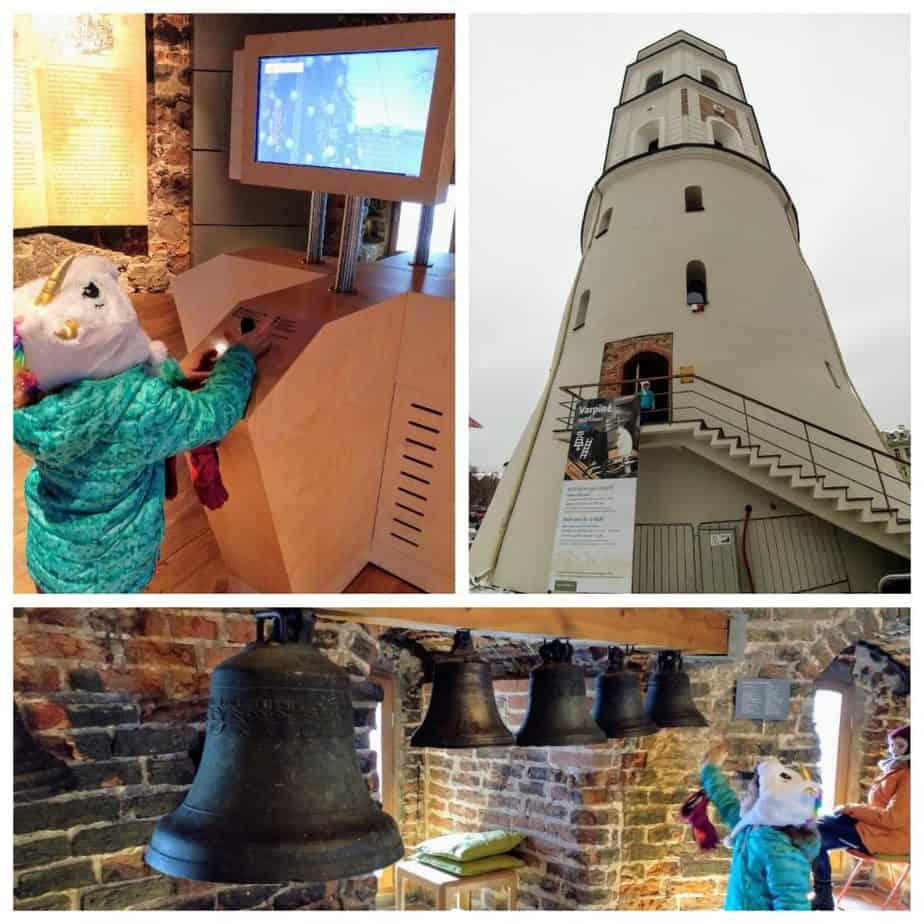 וילנה עם ילדים - מגדל הפעמונים