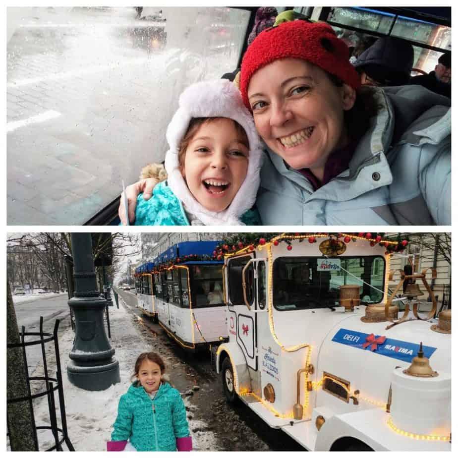 וילנה עם ילדים - Christmas Train