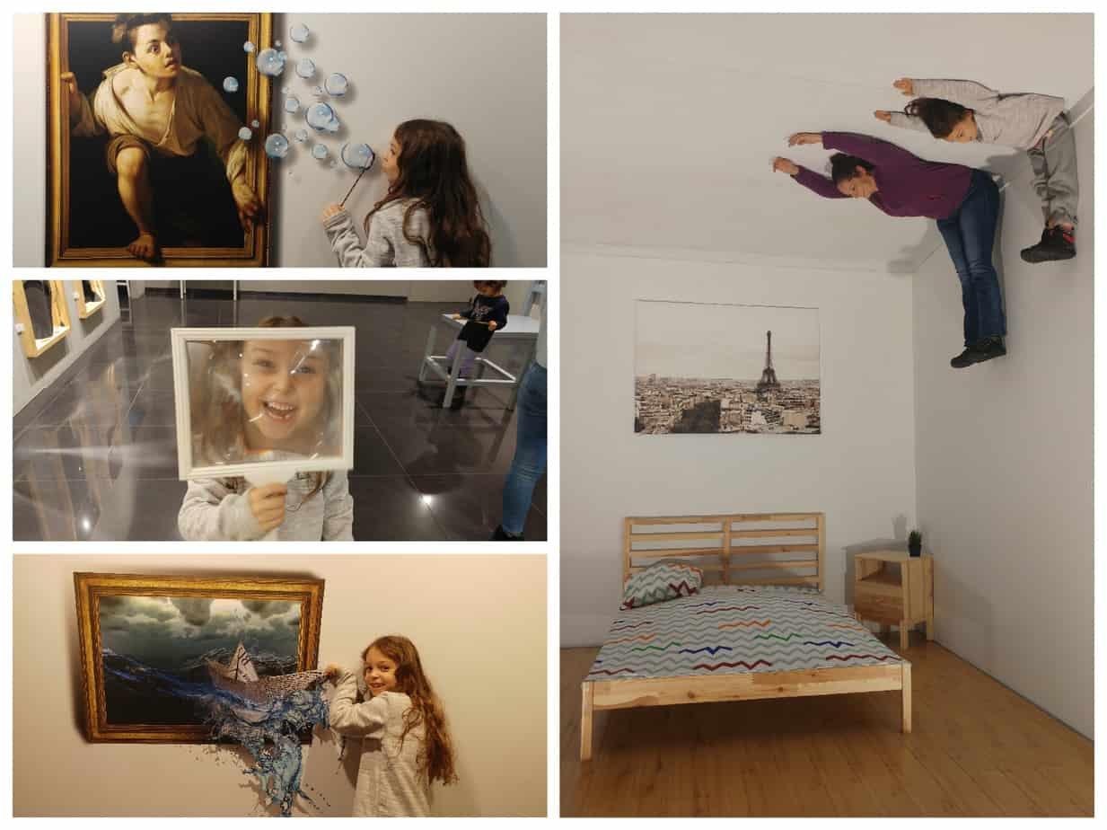 ליטא עם ילדים - מוזיאון האשליות