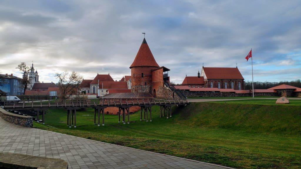 קובנה עם ילדים - ארמון קובנה Kaunas Castle
